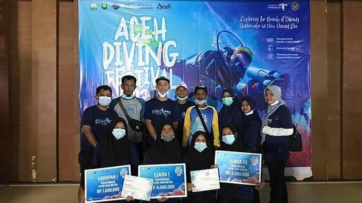koni kota langsa aceh diving festival 2020